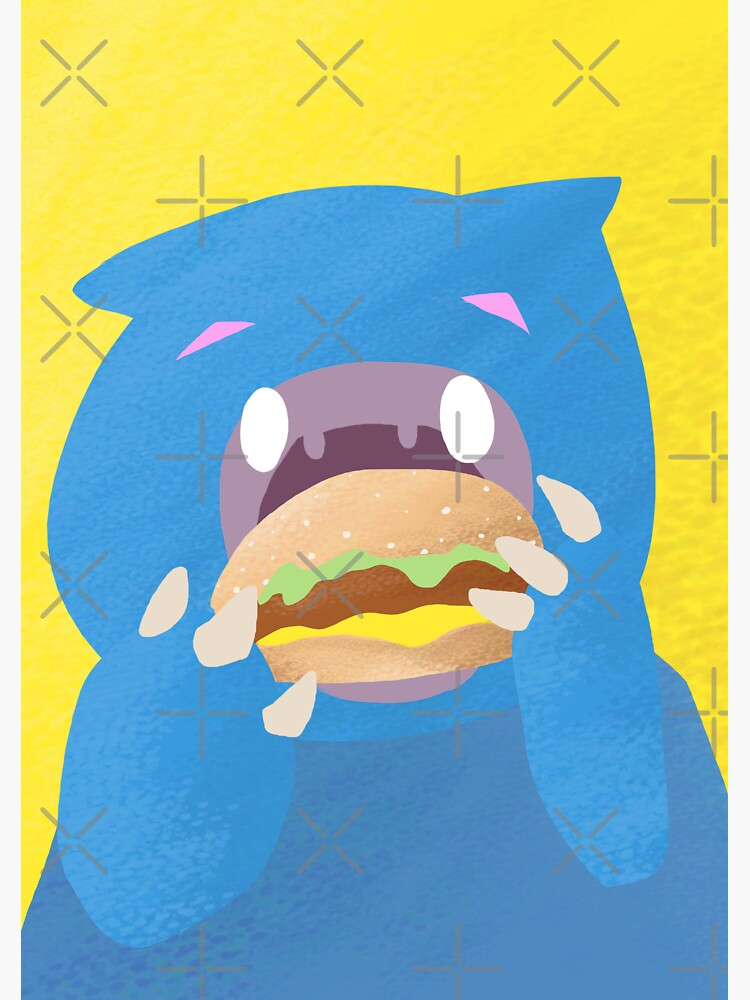 Cheeseburger Monster by PicajoArt