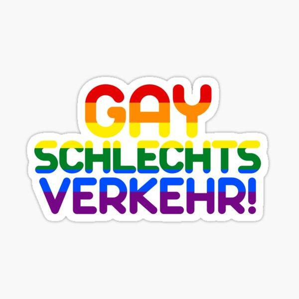 Gayschlechtsverkehr (bunt) Sticker