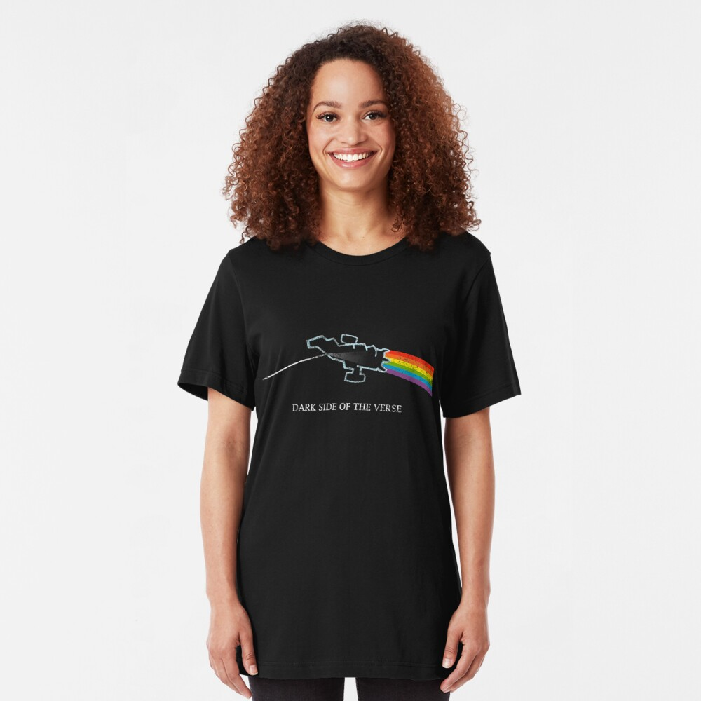 Dark Side of the Verse Slim Fit T-Shirt