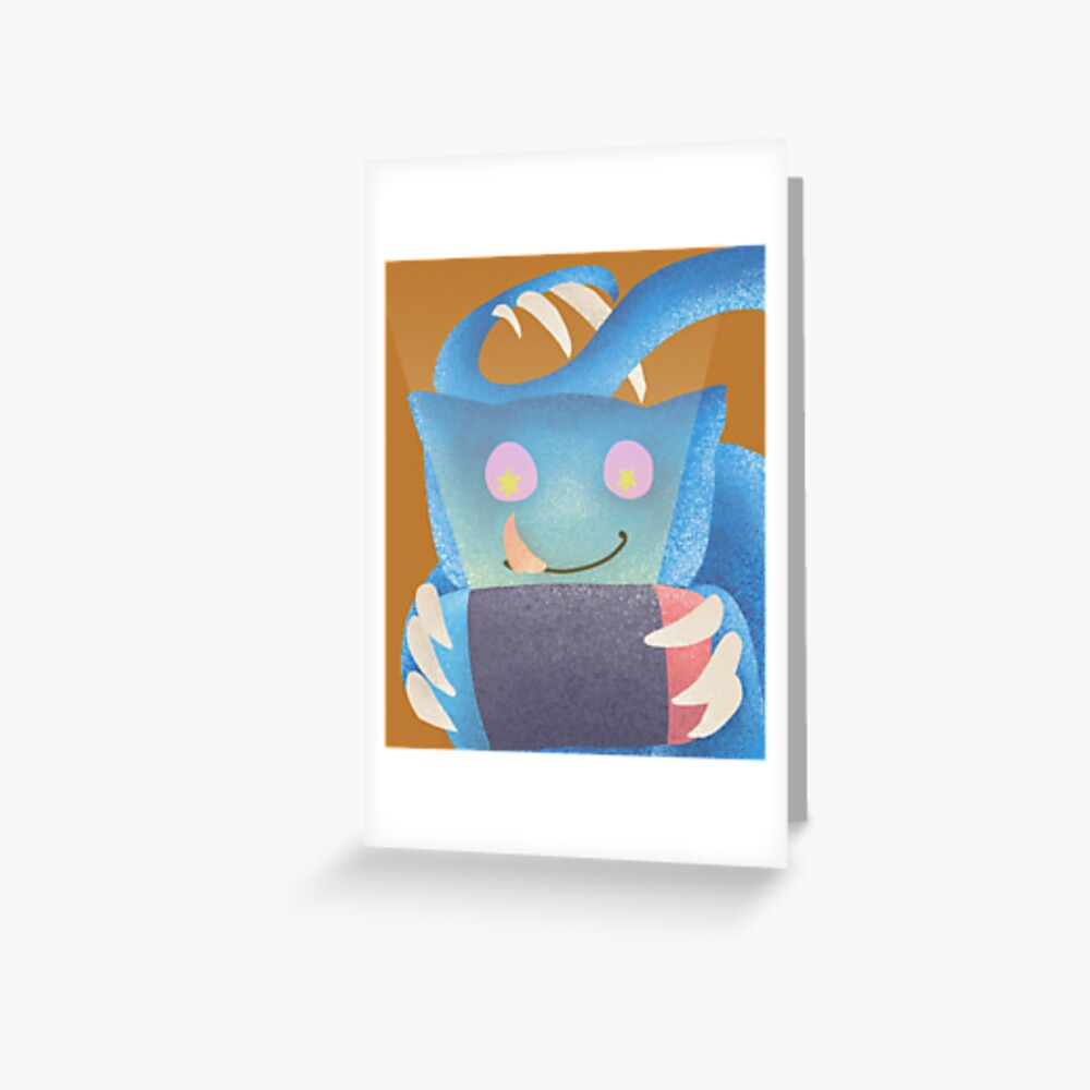 Switch gaming monster Greeting Card