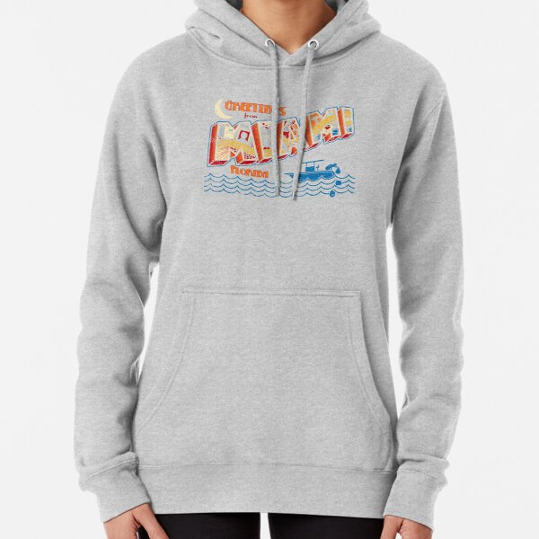 Greetings from Miami Pullover Hoodie