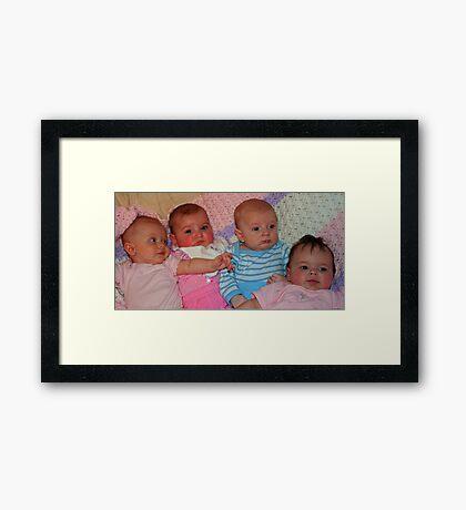The Cousins Framed Print