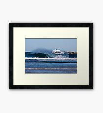 Sea World Cruisers Framed Print