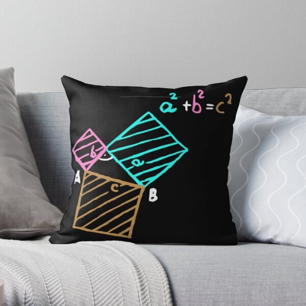 #Formula, #Mathematics, #Equation, #Imaginary, Complex Number, Mathematician, Trigonometric, Functions Throw Pillow