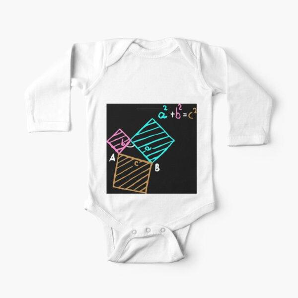 #Formula, #Mathematics, #Equation, #Imaginary, Complex Number, Mathematician, Trigonometric, Functions Long Sleeve Baby One-Piece