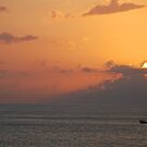 Lombok Sunrise by Grant Scollay