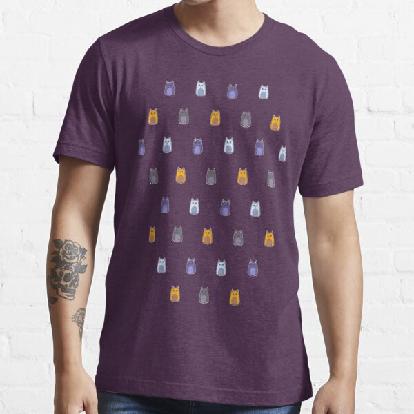 Catsack Pattern Essential T-Shirt