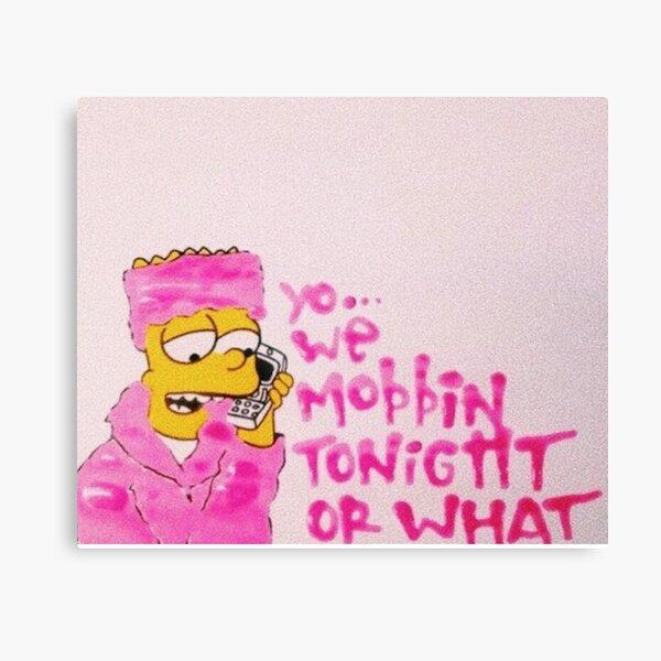 WE MOBBIN? Canvas Print