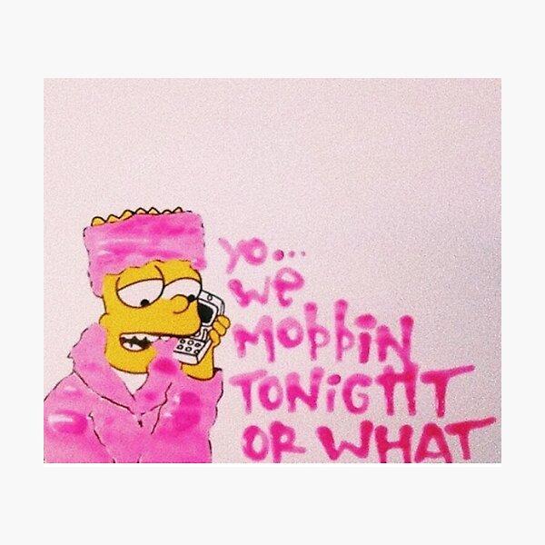 WE MOBBIN? Photographic Print