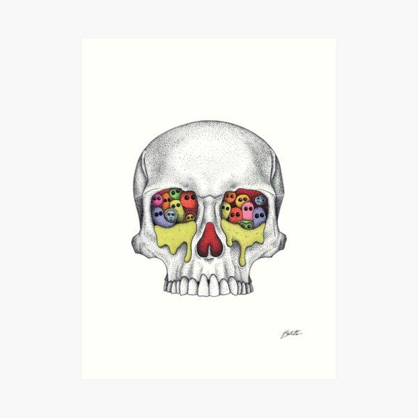 Seuchen und Pandemien Kunstdruck