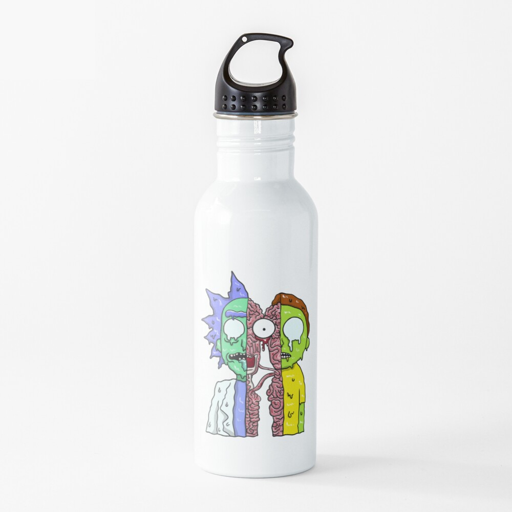Rick and Morty  melting Water Bottle