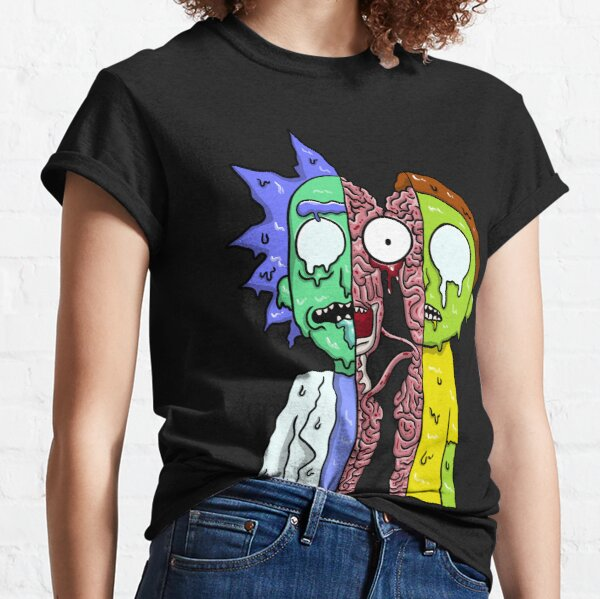 Rick and Morty  melting Classic T-Shirt