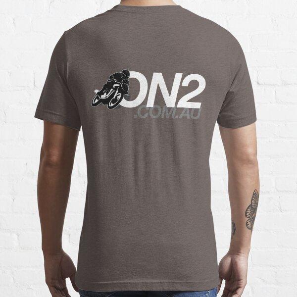 On2 - Black & White Essential T-Shirt