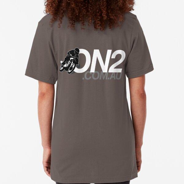 On2 - Black & White Slim Fit T-Shirt