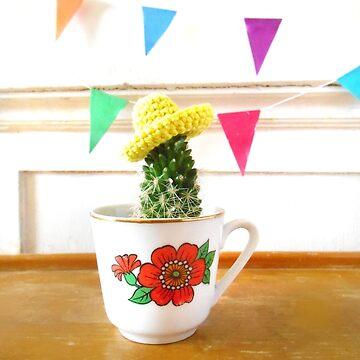Sombrero Cactus by hipaholic