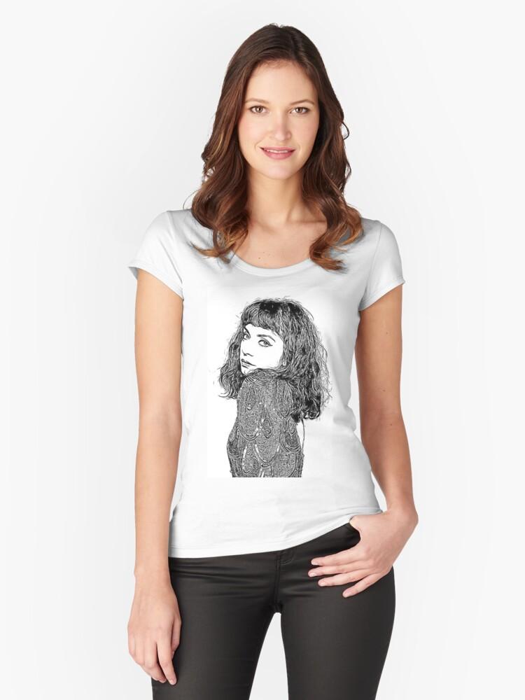 Mon Laferte Chilean Singer White T-Shirt High Quality Shirt Music Tee