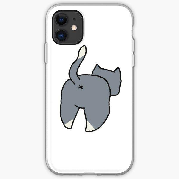 Cat butt iPhone Soft Case