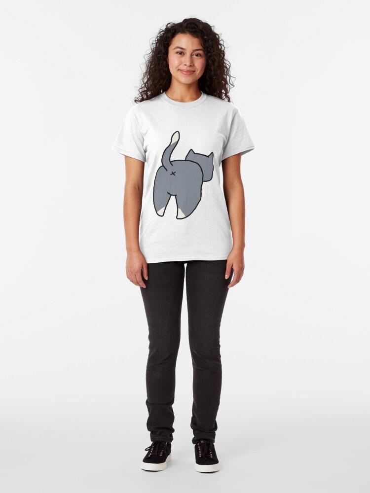 Alternate view of Cat butt Classic T-Shirt
