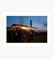 Showmans Engine 2 Art Print