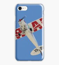 VH-BFY PA18 AIRADS BANNER TOW iPhone Case/Skin