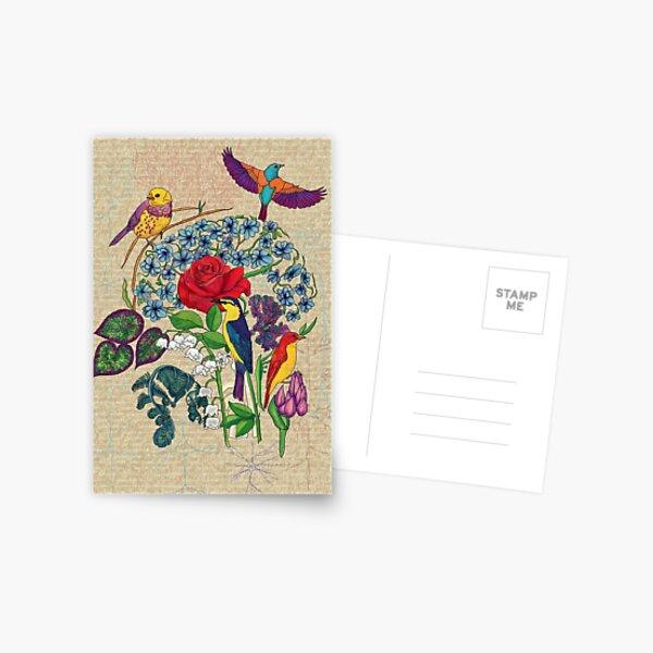 Bird/Brain Postcard