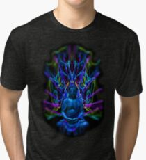 Psychedelic Buddah Tri-blend T-Shirt