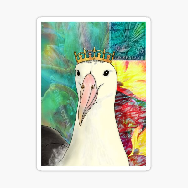 Northern Royal Albatross Sticker