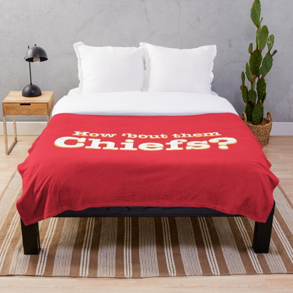 How 'bout them Chiefs? Throw Blanket