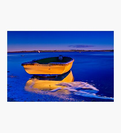 """""""Gold 'n' Blue Photographic Print"""