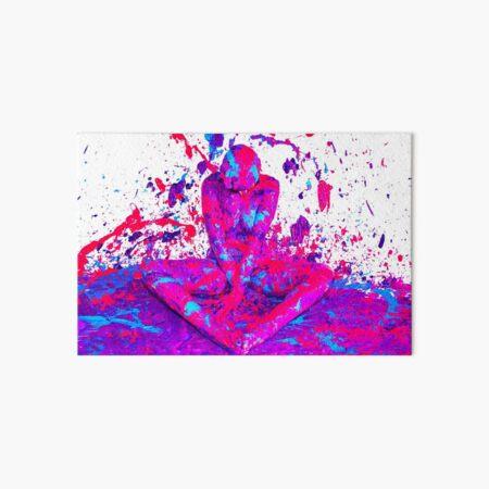 A splash of colour Art Board Print