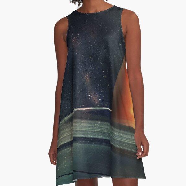 Return to Saturn A-Line Dress