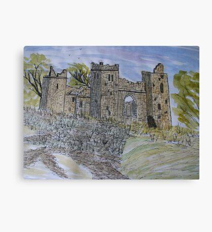 Drumore Abbey Canvas Print