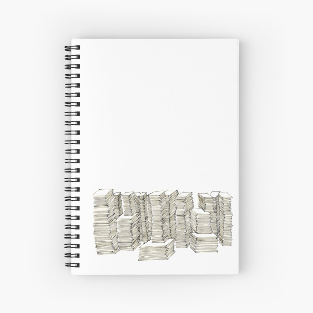 Piles Spiral Notebook