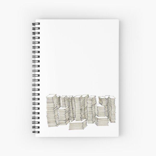 Piles Spiral Notebook