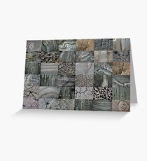 Stone Patchwork 6x6 Greeting Card