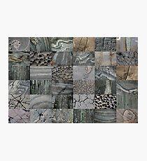 Stone Patchwork 6x6 Photographic Print