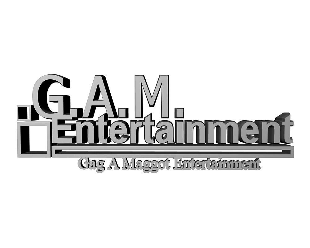 Gag A Maggot Entertainment, LLC. Logo by GagAMaggotEnt