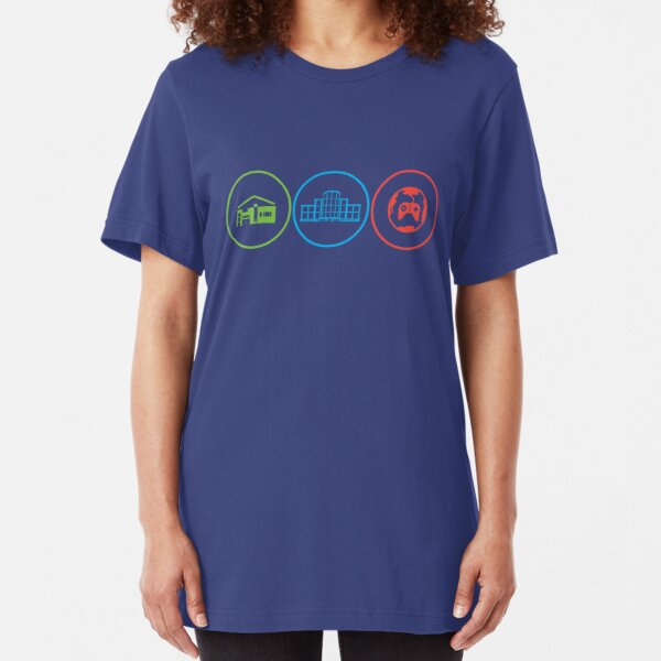 Tower Unite: Play, Create, Party Slim Fit T-Shirt