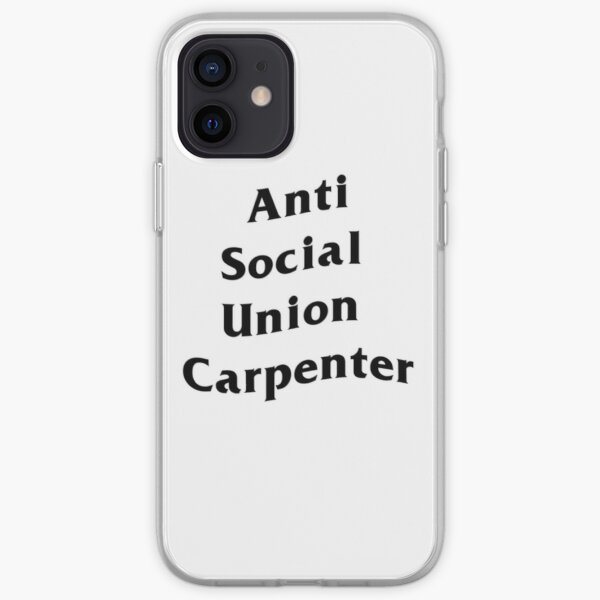 Charpentier anti-union sociale Coque souple iPhone