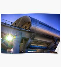 A New Landmark - Miami Central Station Poster