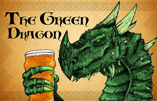 The Green Dragon by SamMcGorry