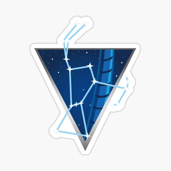 Orion Constellation Coaster Graphic Sticker