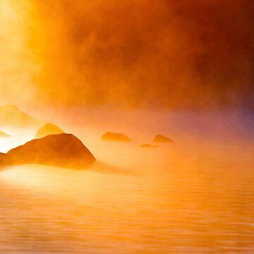 9-11-11 Lake Ozonia Sunrise by bpelkey1