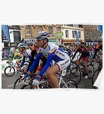 Start of the Tour of Britain in Peebles, Scotland Poster