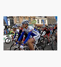 Start of the Tour of Britain in Peebles, Scotland Photographic Print