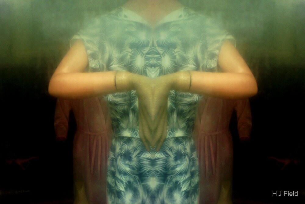 scary lady by H J Field
