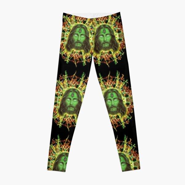 Psychedelic Jesus Leggings