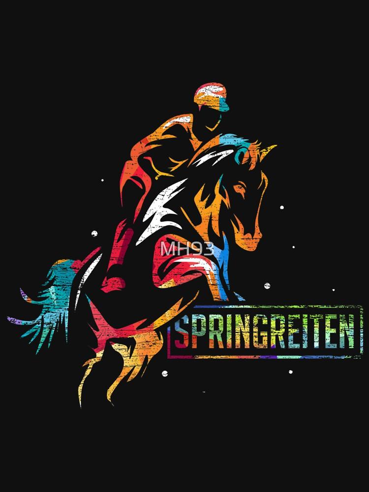 Riding Evolution Jungen T-Shirt Rider Horses Fun Darwin Races Reiter Reiten