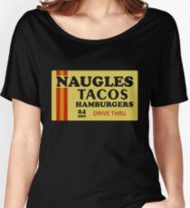 Naugles Tacos Retro T-Shirt Women's Relaxed Fit T-Shirt