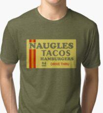 Naugles Tacos Retro T-Shirt Tri-blend T-Shirt